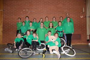 Oberbayrische Freestyle-Meisterschaft Einrad in Lenting