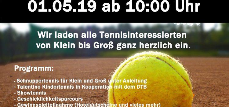 Einladung zur Tennis Saisoneröffnung