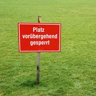 Spiel- und Trainingsbetrieb erneut eingestellt